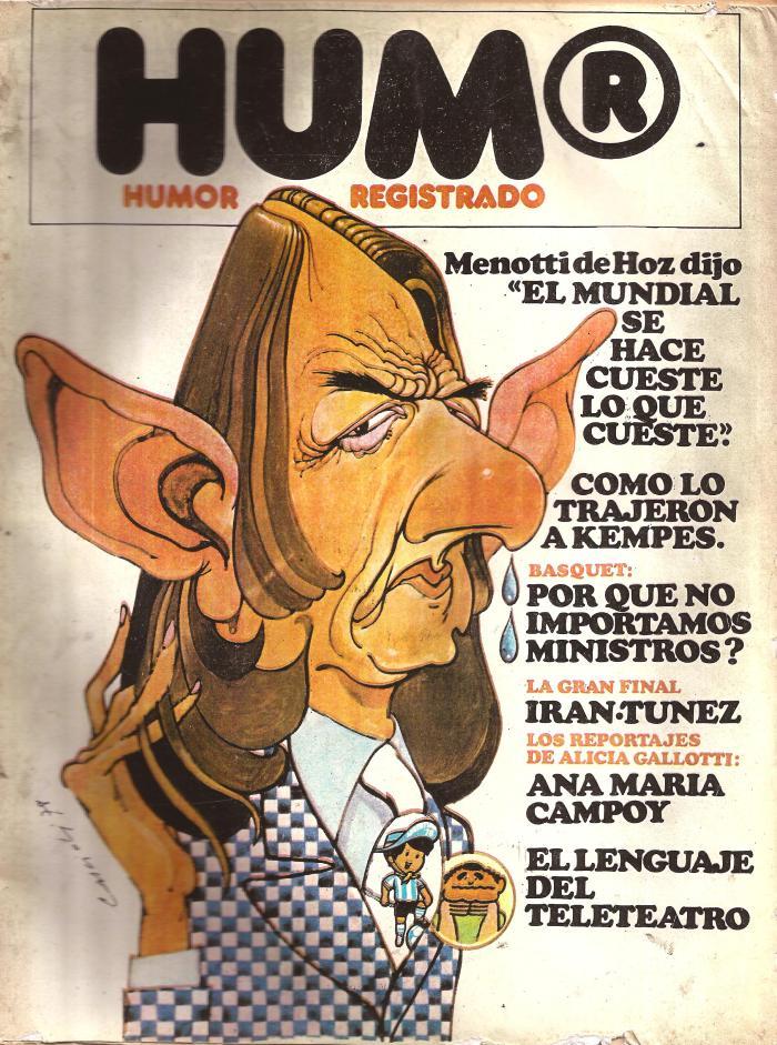 Cascioli, HUM® nº 1, junio de 1978